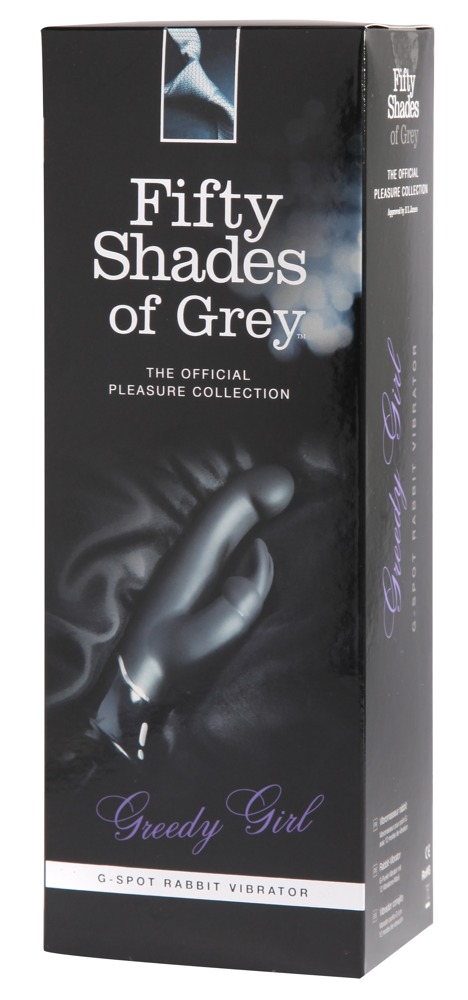 BlackLevel | Fifty Shades of Grey: Greedy Girl G-Spot Rabbit Vibe